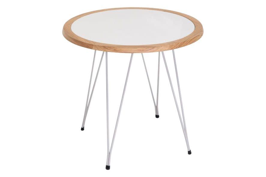 Haya White 93, Haya White 93, RAL 1000, 70,Verges,Coffee & Side Tables,coffee table,end table,furniture,table