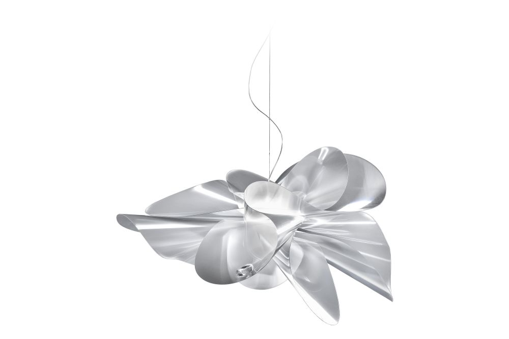 W90 x H55,Slamp,Pendant Lights,holiday ornament,leaf,ornament,petal,silver,white