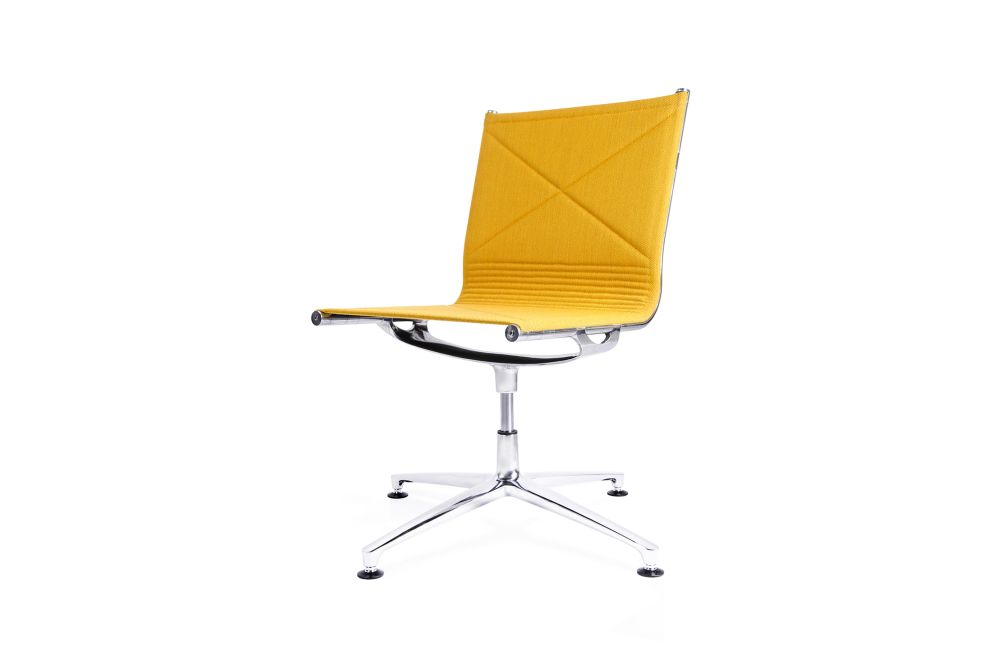 Fame 60003,Engelbrechts,Conference Chairs,chair,furniture,office chair,orange,yellow