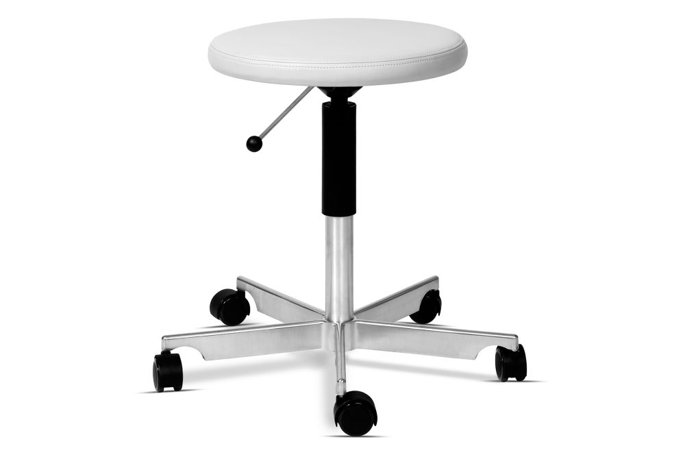 Kevi 2531 Stool Upholstered by Engelbrechts