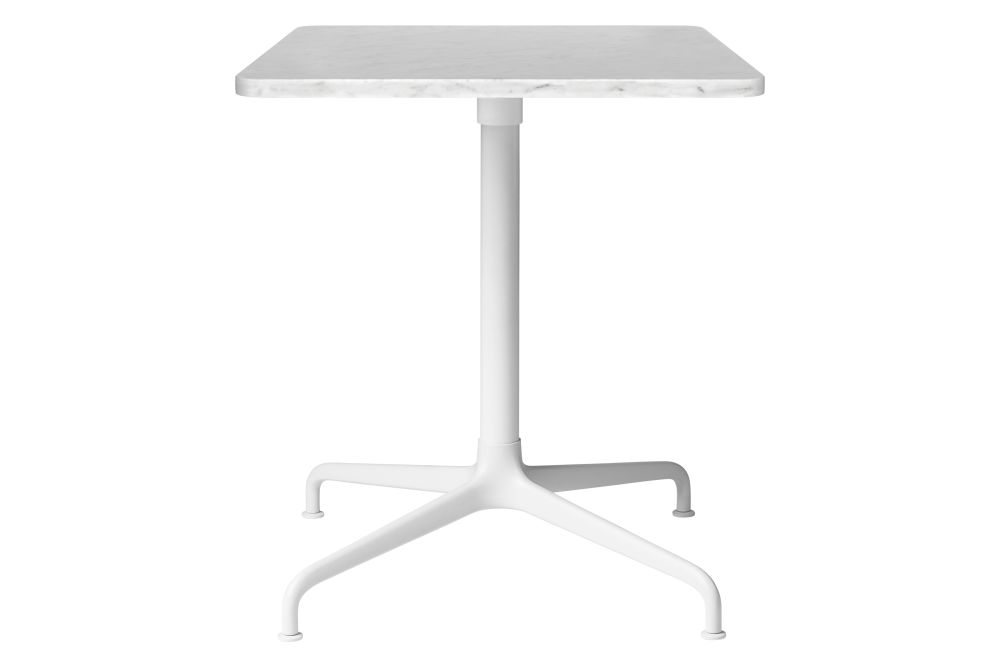 Beetle 4-Star Base Square Lounge Table, Small by Gubi