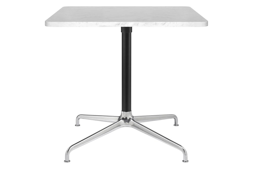 Beetle 4-Star Base Square Lounge Table, Large by Gubi