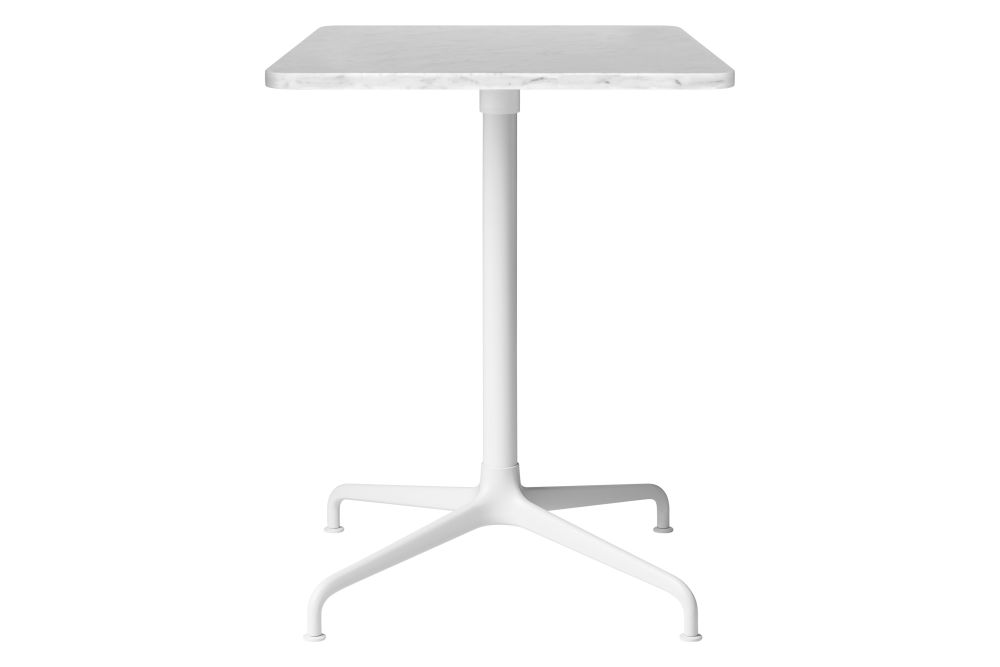 Soft White Semi Matt Base, Soft White Laminate,GUBI,Dining Tables,end table,furniture,outdoor table,table