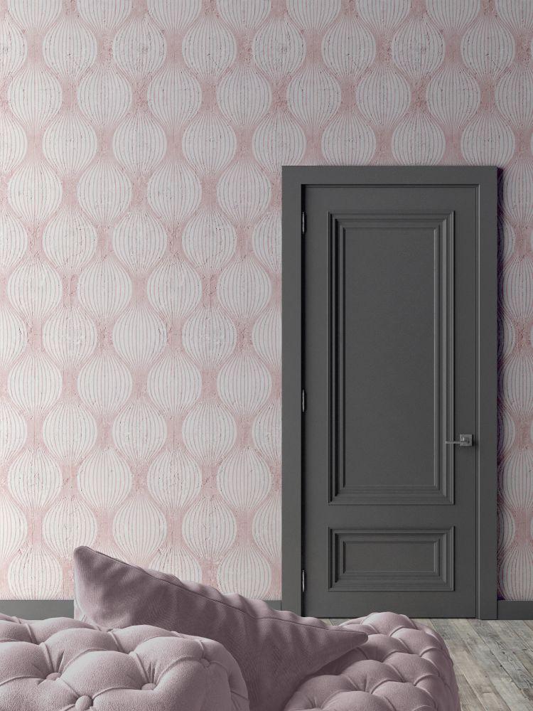Pink Optical Bulbs Wallpaper