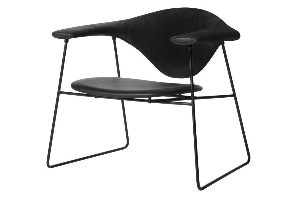 Price Grp. 01, Black Semi Matt Base,GUBI,Lounge Chairs,chair,design,furniture,table