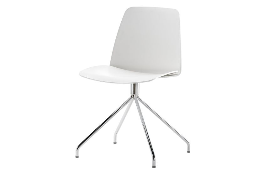 Unnia W01, Colour W01-White,Inclass,Breakout & Cafe Chairs,chair,furniture,material property,white