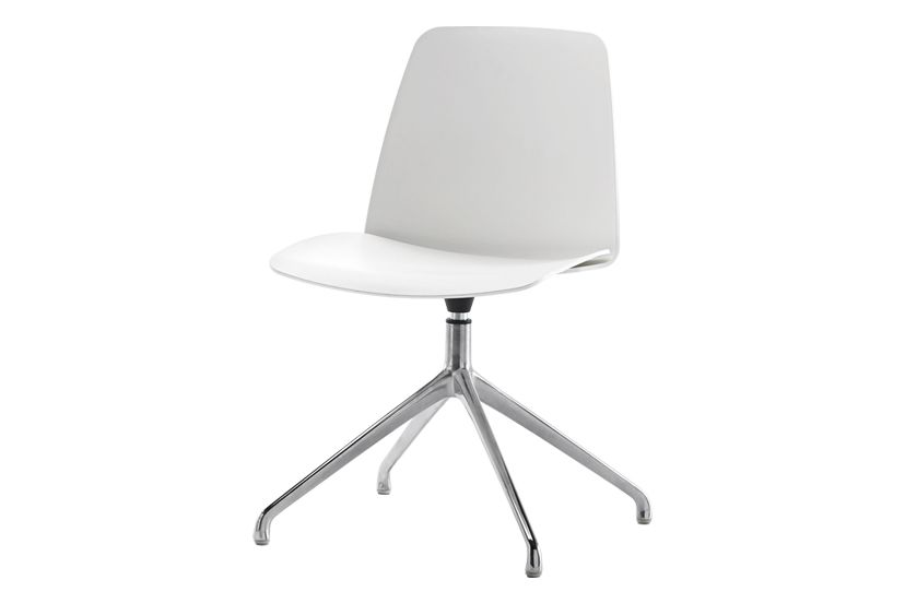 Unnia W01, Colour W01-White,Inclass,Breakout & Cafe Chairs,beige,chair,furniture,material property,office chair,plastic,product,white