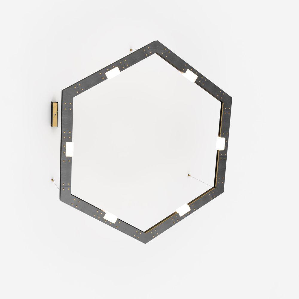 CUBI - 06.1260 Brashed Brass,Intueri Light,Chandeliers,ceiling