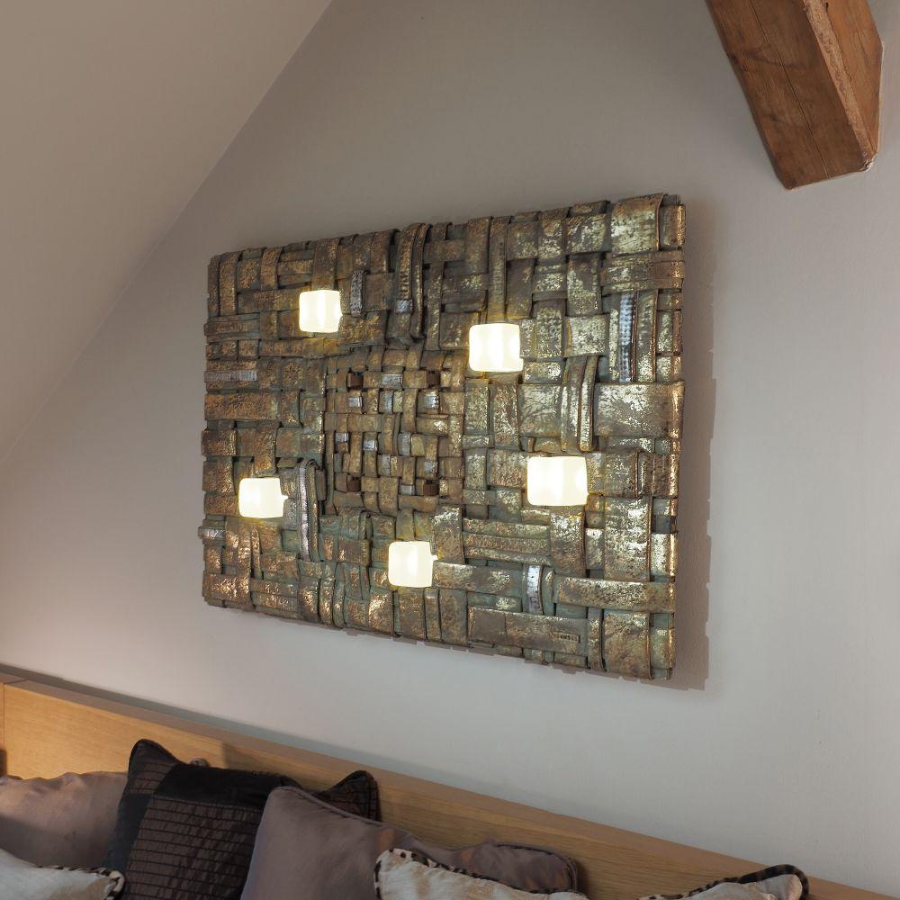 Vaamoos 60901,Intueri Light,Wall Lights,floor,interior design,living room,rectangle,room,stone wall,tile,wall,wood