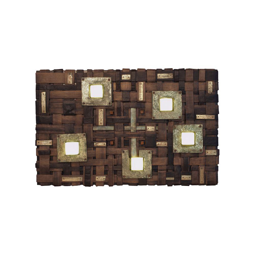 Vaamoos 60902,Intueri Light,Wall Lights,brown,rectangle