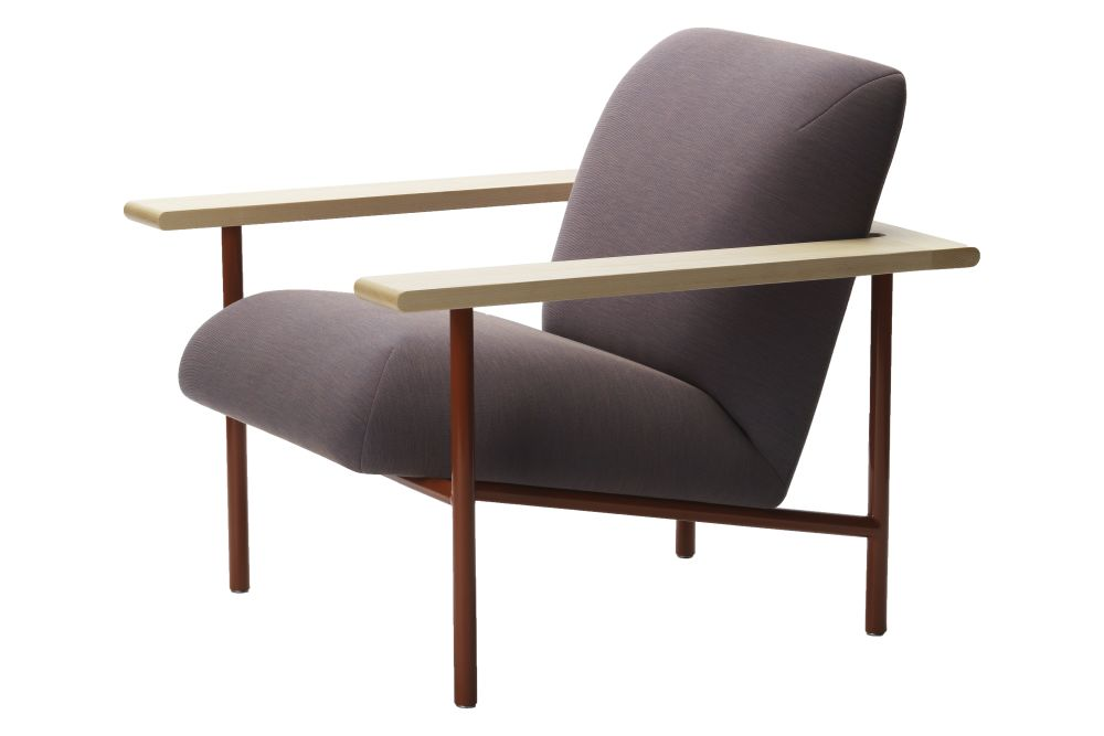 Sensational Kinoko Lounge Chair With Metal Frame Fabric A Natural Ash By Zilio Aldo C Inzonedesignstudio Interior Chair Design Inzonedesignstudiocom