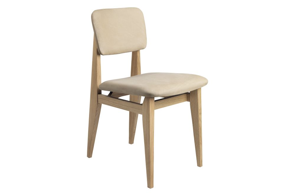 C-Chair Dining Chair - Fully Upholstered by Gubi