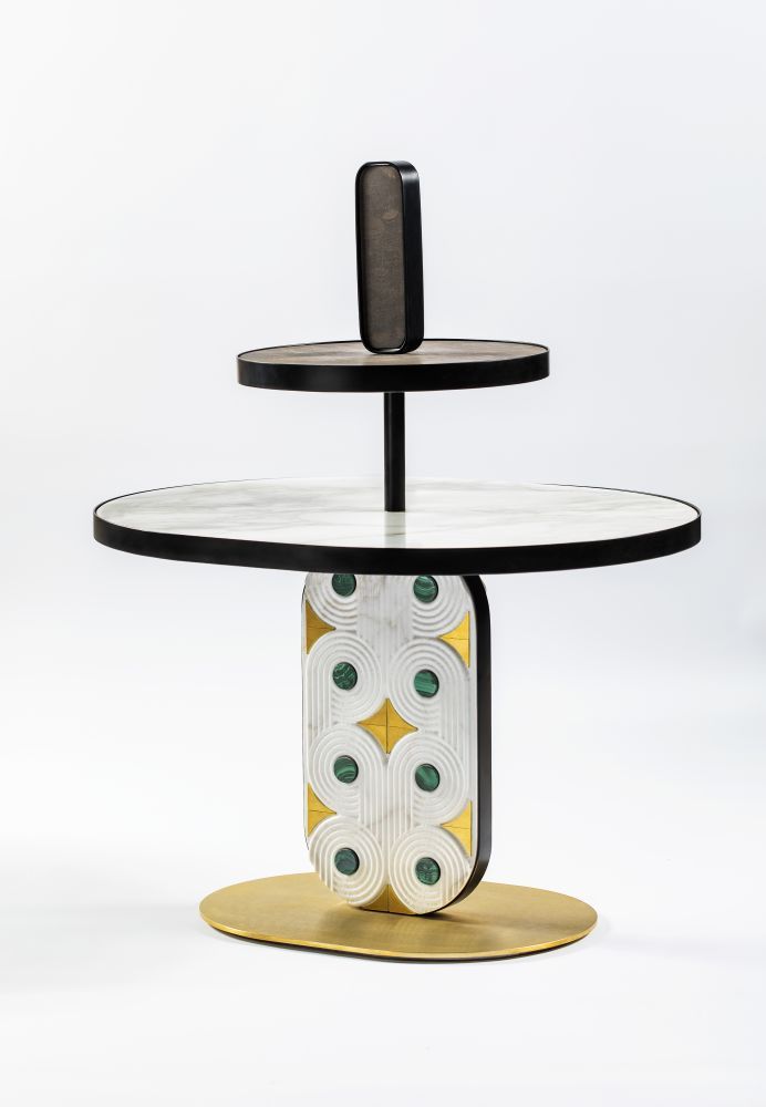 Lithea,Coffee & Side Tables,cake stand,furniture,table