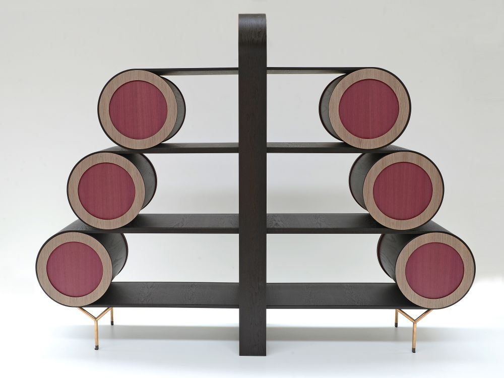 Roue Bookcase by Emmemobili