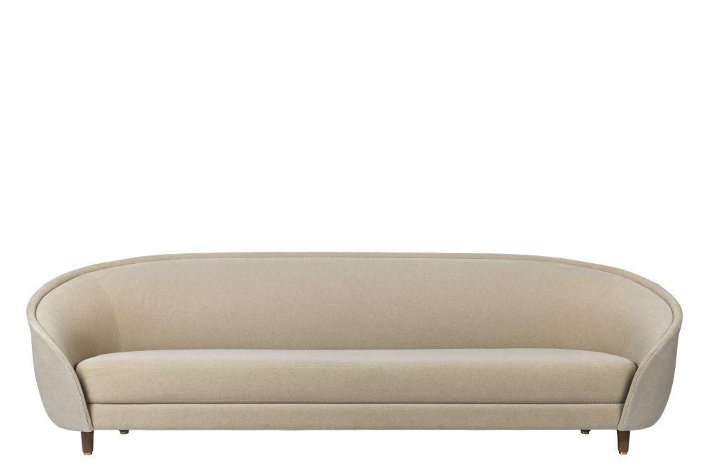Revers Sofa, Wood Base by GUBI