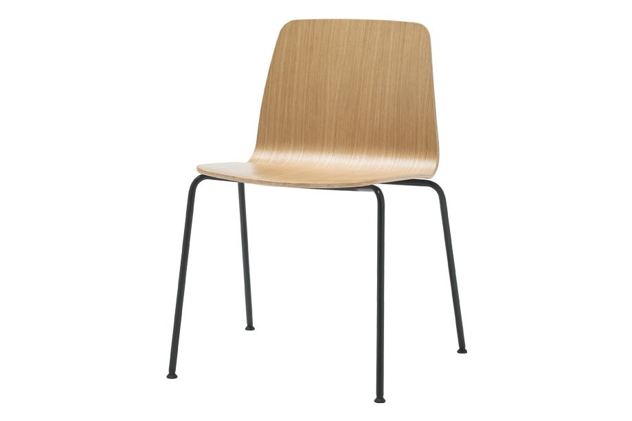 Walnut Veneer Natural, Chrome,Inclass,Breakout & Cafe Chairs,beige,chair,furniture,plywood,wood