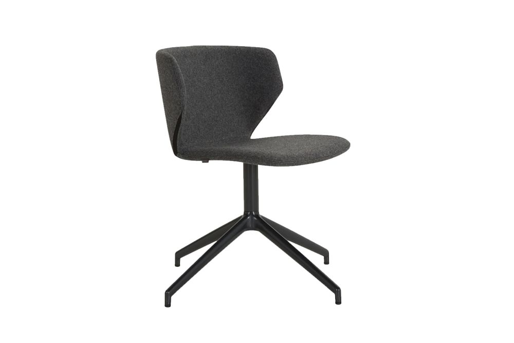 Leather Price Group C, RAL7021 - Black grey,Modus ,Breakout & Cafe Chairs,chair,furniture,line,office chair