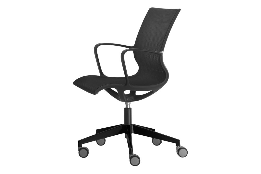 Lacquered MDF G42-Light Grey,Inclass,Task Chairs,chair,furniture,line,office chair,product
