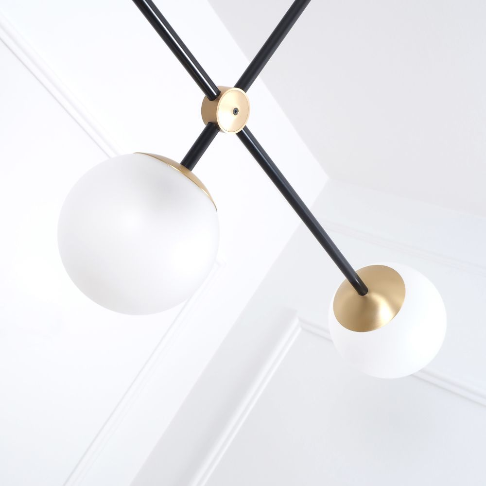 Pure T3-391-BB/BB,Intueri Light,Chandeliers,ceiling,light,light fixture,lighting,pendant,white