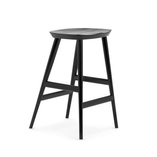 WW CLASSIC - BAR STOOL - BLACK,Hayche,Stools,bar stool,furniture,stool,table