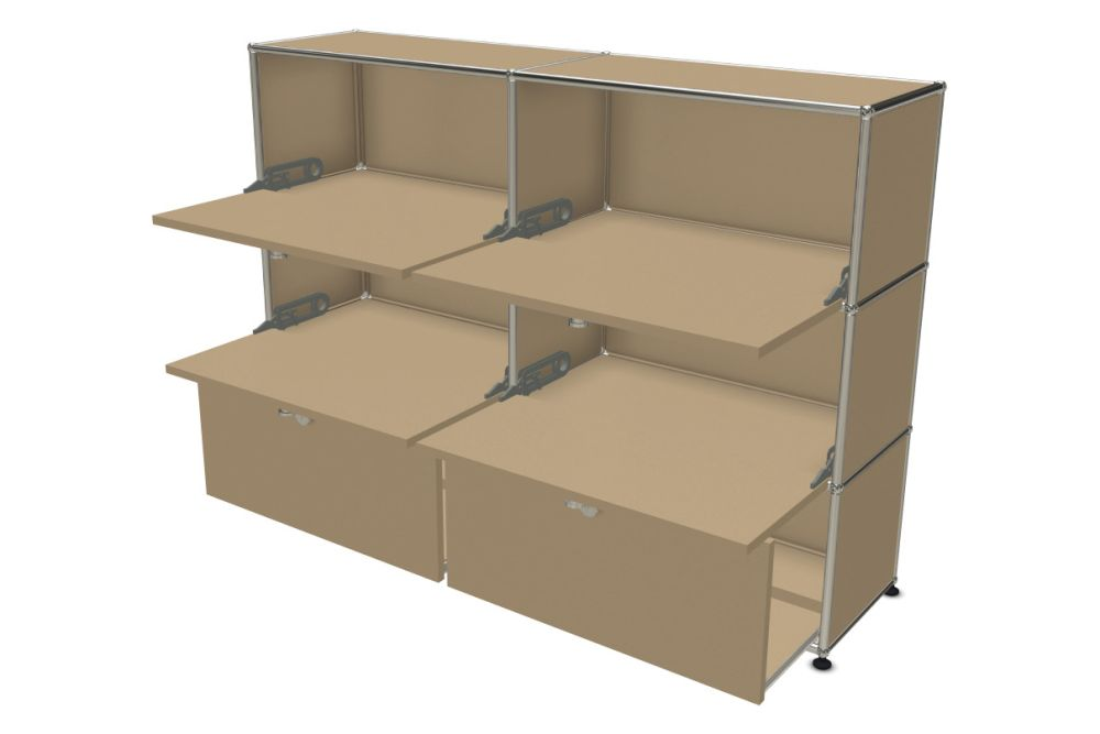 Pure White,USM Modular Furniture,Workplace Cabinets & Shelving,box,cardboard,drawer,furniture,shelf,shelving,table