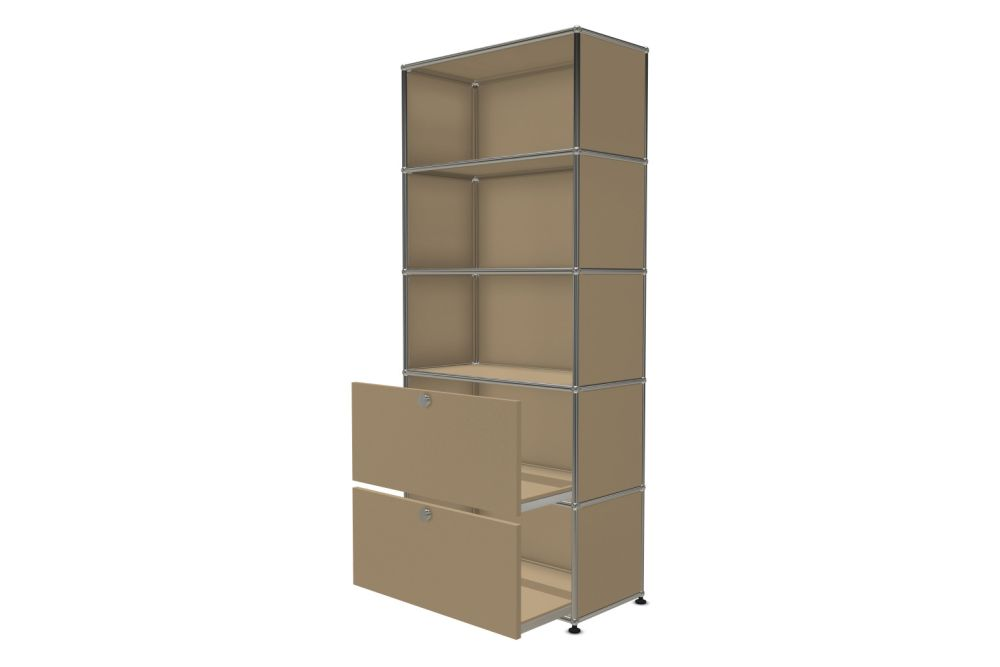 Pure White,USM Modular Furniture,Workplace Cabinets & Shelving,chiffonier,furniture,shelf,shelving