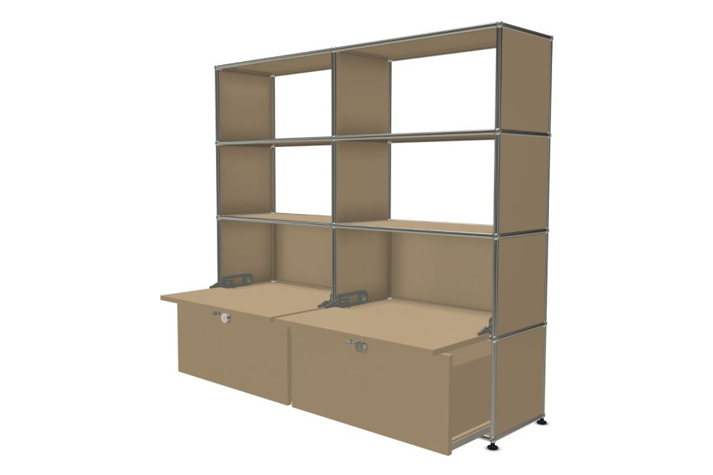 Pure White,USM Modular Furniture,Workplace Cabinets & Shelving,bookcase,display case,furniture,shelf,shelving,wall