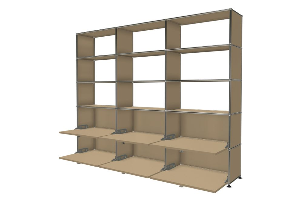 Pure White,USM Modular Furniture,Workplace Cabinets & Shelving,bookcase,display case,furniture,shelf,shelving