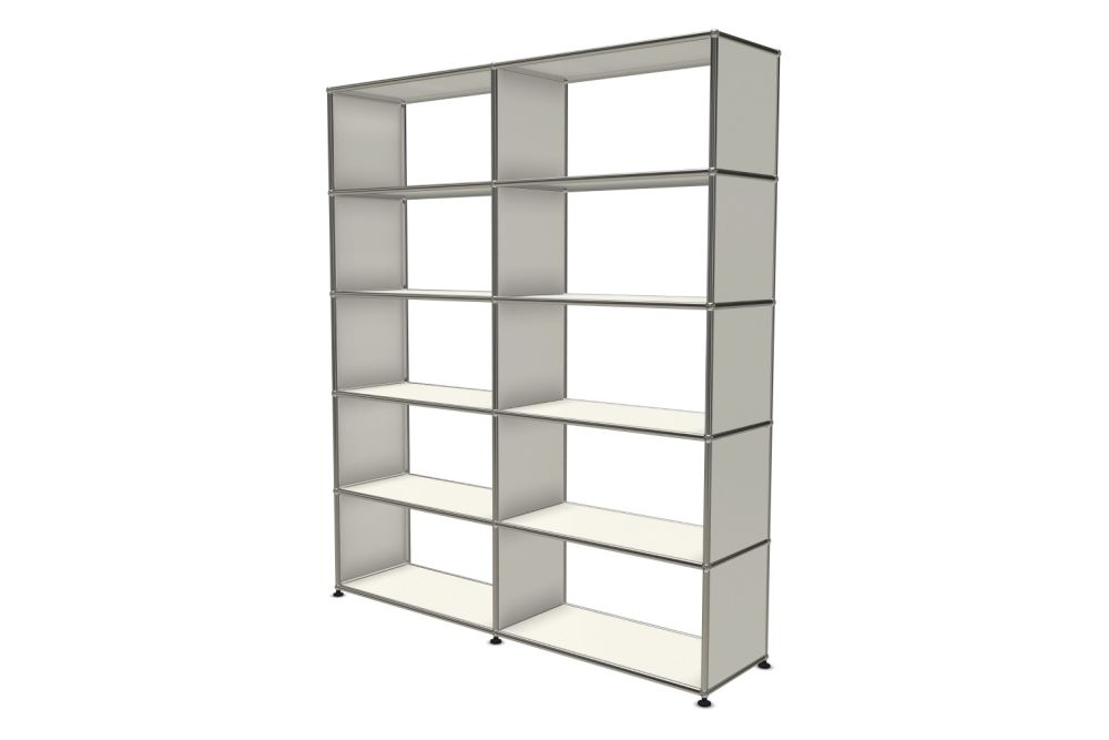 Pure White,USM Modular Furniture,Workplace Cabinets & Shelving,bookcase,display case,furniture,product,shelf,shelving