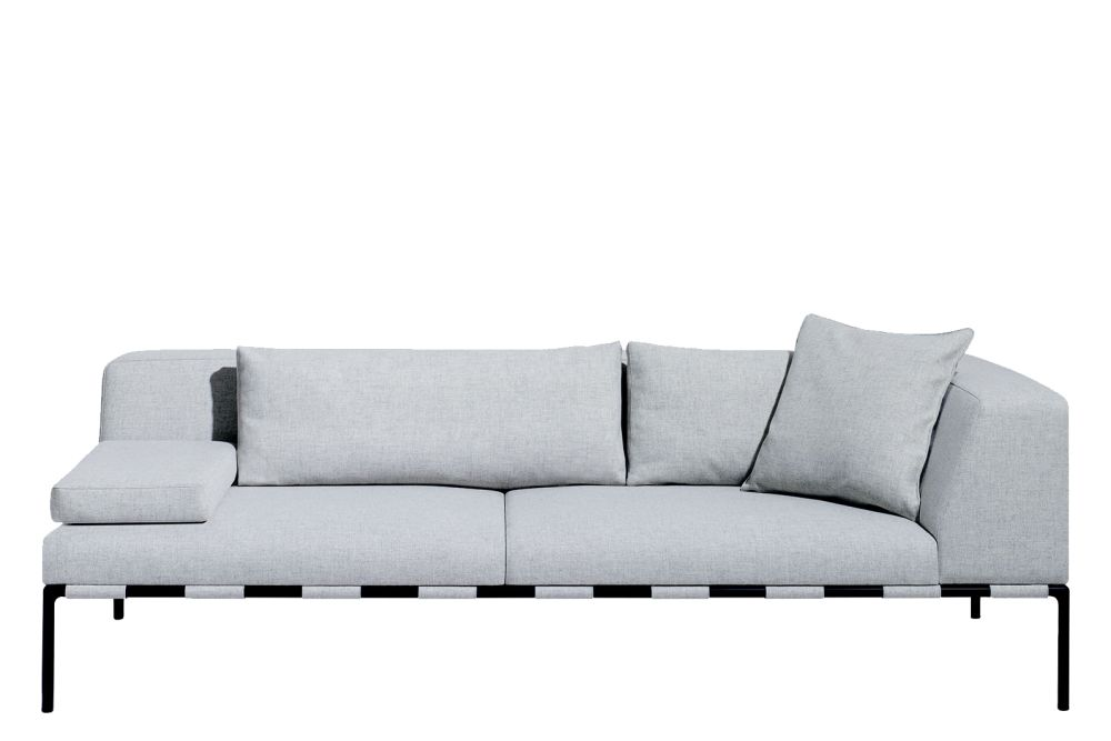 RAL9016 - Traffic White, Price Group A, Left,Modus ,Breakout Sofas,couch,furniture,outdoor sofa,room,sofa bed,studio couch