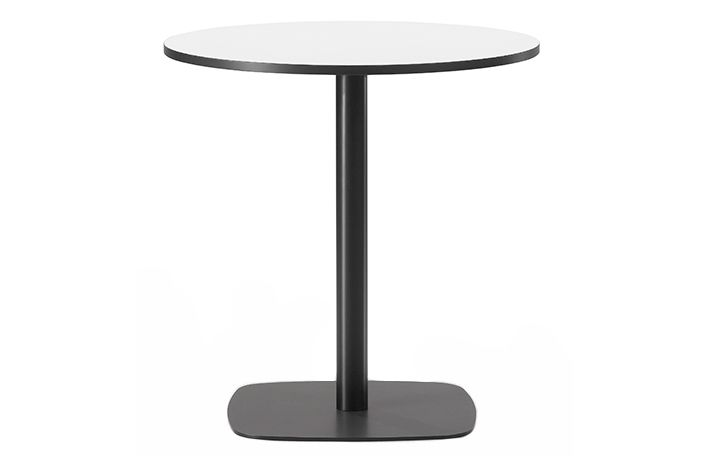 Black linoleum, White painted, 71,Fredericia,Coffee & Side Tables,end table,furniture,material property,outdoor table,table
