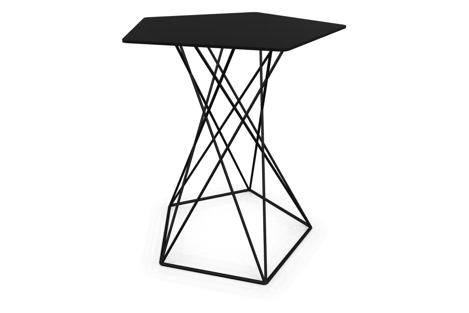 Basket Side Table by Cascando