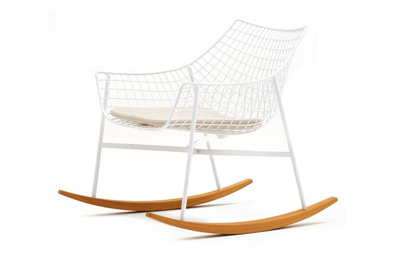 Bianco - C,Varaschin,Outdoor Chairs,chair,furniture,product,rocking chair