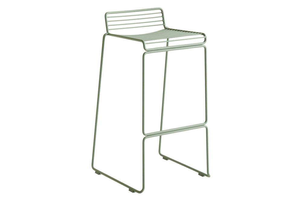 Hee Bar Stool High - Set of 2 by Hay