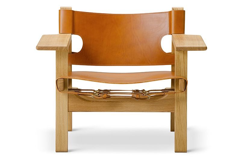 Oak black lacquered, Black coloured saddle leather,Fredericia,Seating,armrest,chair,furniture,plywood,wood