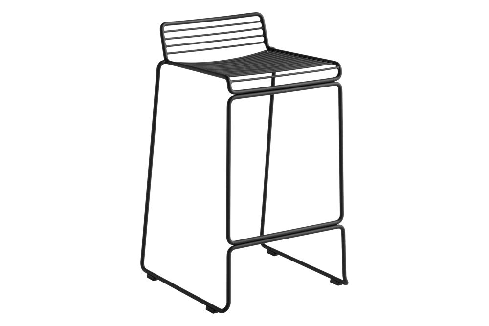 Hee Bar Stool Low - Set of 2 by Hay