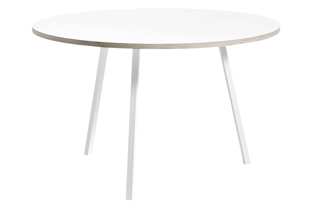 Loop Stand Round Dining Table by Hay