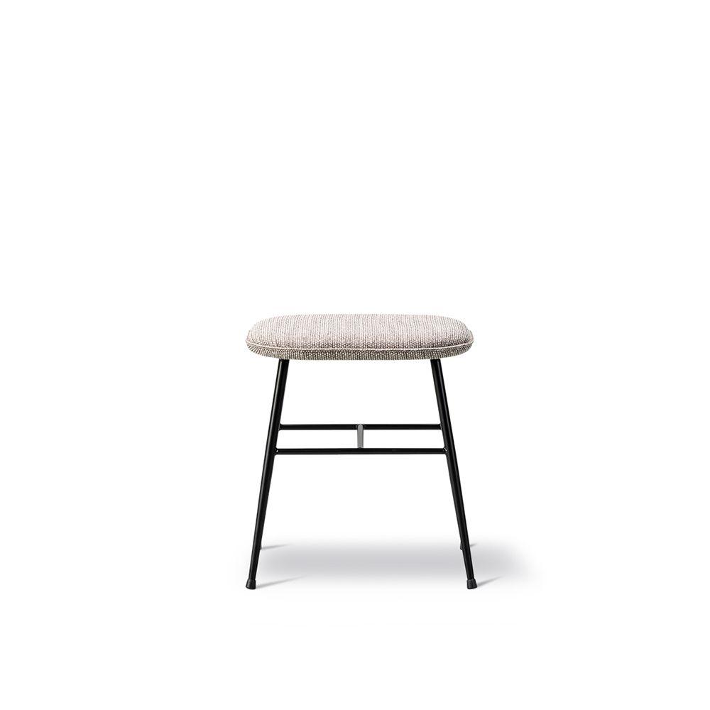 Nubuck 501 Light sand, Black, 46.5,Fredericia,Stools,bar stool,chair,furniture,stool,table