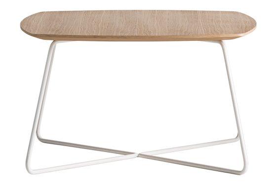 MDF-HPL Oak, Colour W01-White,Inclass,Coffee & Side Tables,coffee table,end table,furniture,table