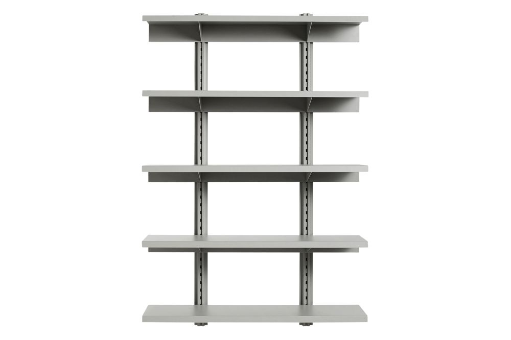 HAY Metal Sky Grey,Hay,Bookcases & Shelves,bookcase,furniture,shelf,shelving