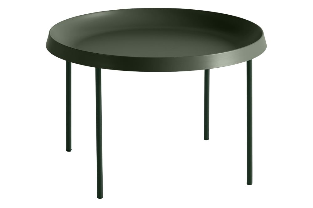 Metal Black, 75cm,Hay,Coffee & Side Tables,coffee table,end table,furniture,outdoor table,table