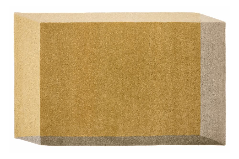 Yellow,PUIK,Workplace Rugs,beige,brown,rectangle