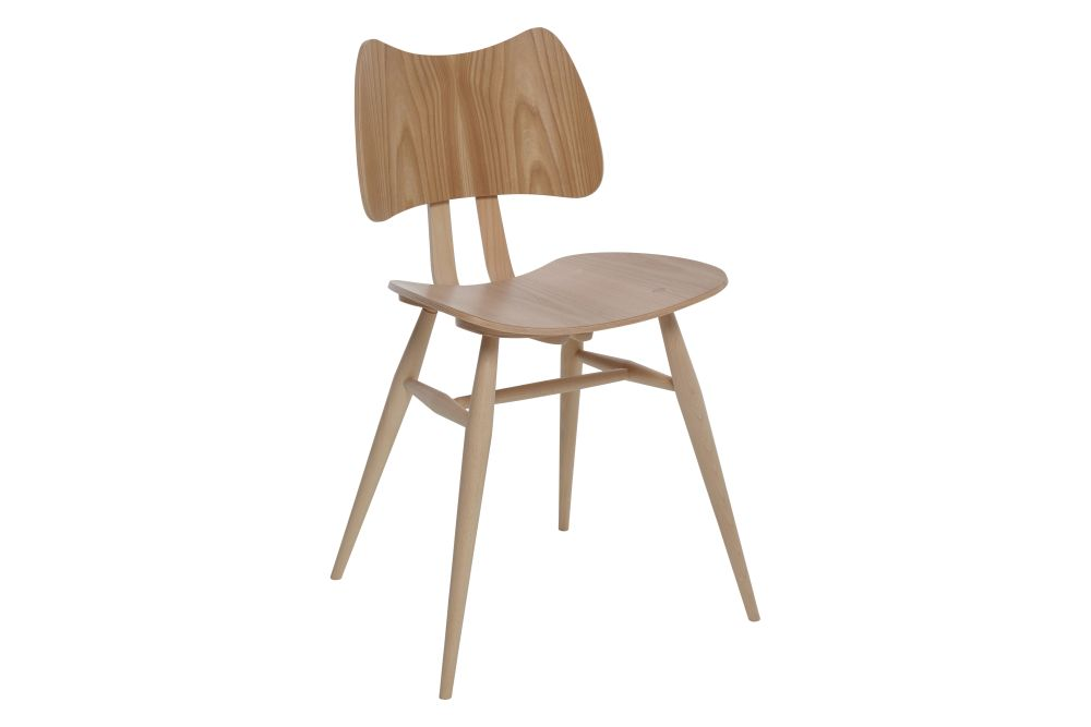 Darkened - DA,Ercol,Dining Chairs,beige,chair,furniture,plywood,wood