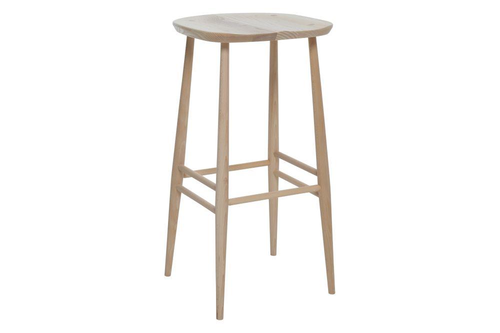 Black - BK,Ercol,Stools,bar stool,furniture,stool,table