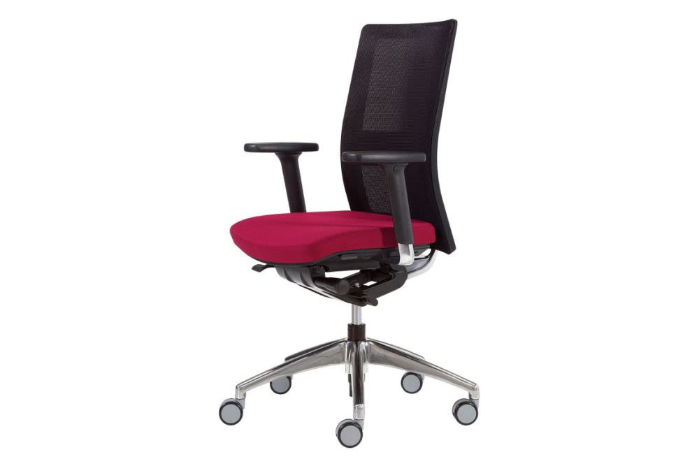 Pricegrp. c1, Mesh Black, Fix, Synchro,Inclass,Task Chairs,armrest,chair,furniture,line,material property,office chair,product