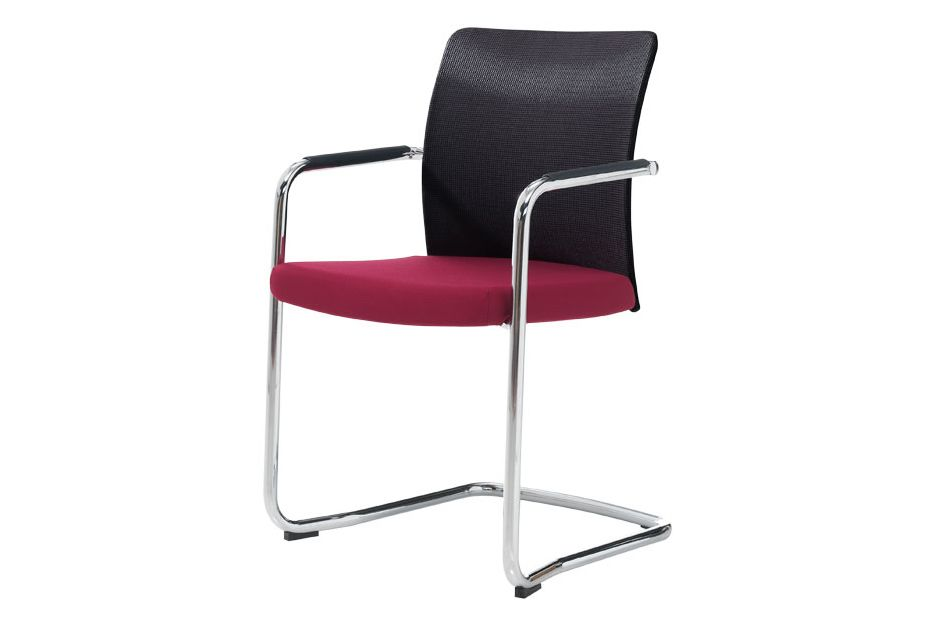 Pricegrp. c1, Mesh Black, Colour W01-White,Inclass,Breakout Lounge & Armchairs,armrest,chair,furniture,material property