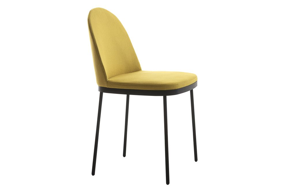 Precious varnished Titanio S,Moroso,Dining Chairs,beige,chair,furniture,line