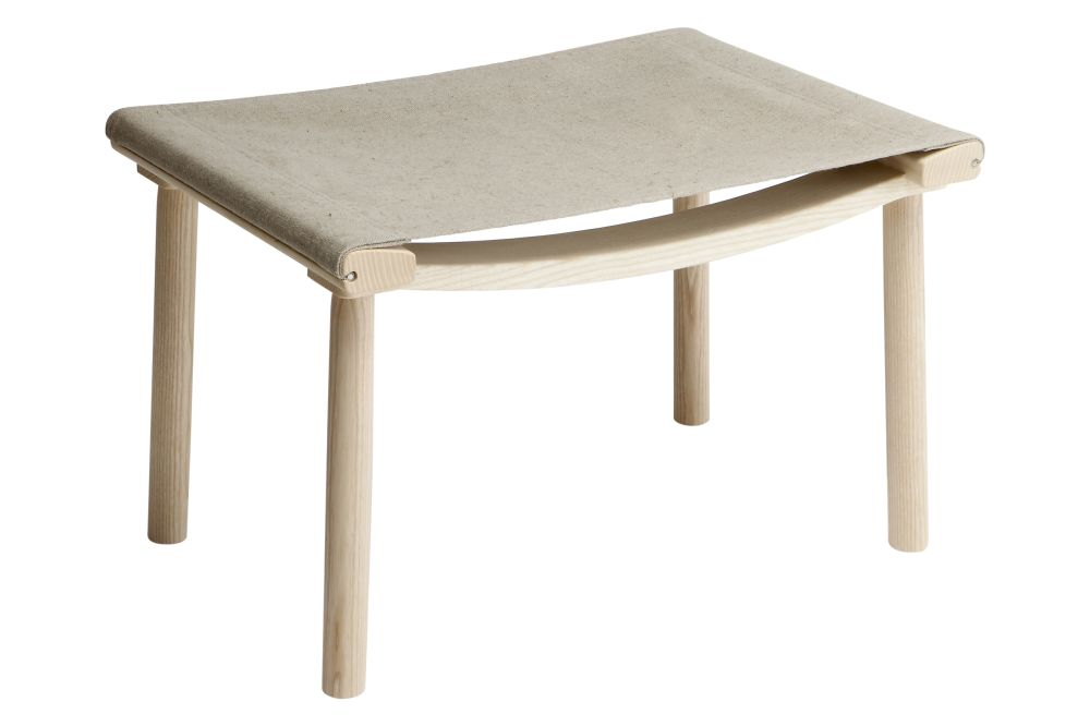 Ash Natural Oil, December Linen Canvas,Nikari,Footstools,coffee table,furniture,outdoor table,stool,table