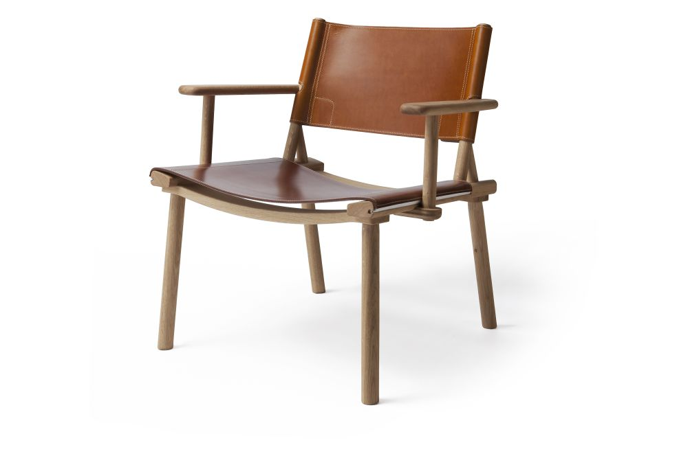 Ash Natural Oil, Natural Tanned Leather Cognac,Nikari,Lounge Chairs,armrest,chair,furniture