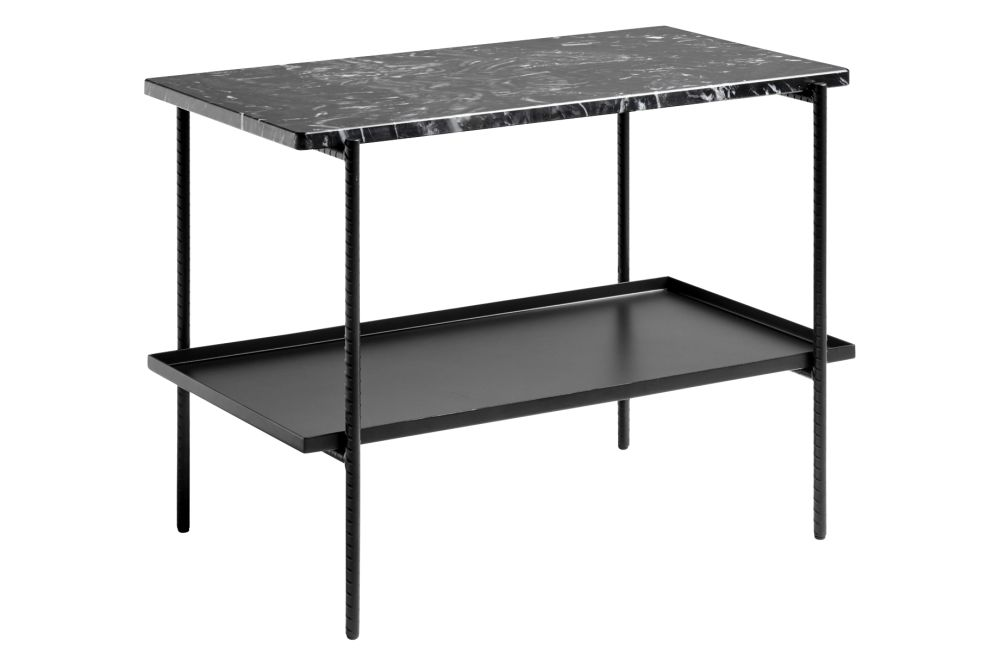 Rebar Rectangular Side Table by Hay